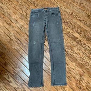 Men's grey jeans size 30